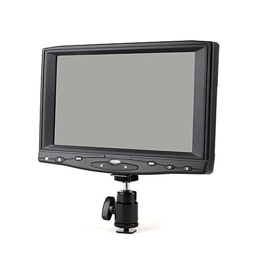 небольшие портативные 7inch на камеру поле HD монитор с VGA и композитный AV-вход Lightinthebox 8164.000