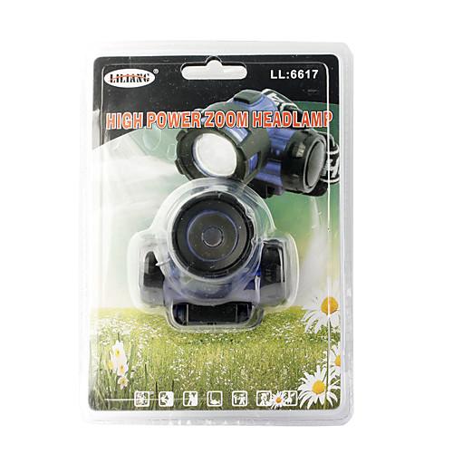 привел глава факел фонариком фары для езды на велосипеде / рыбалка / кемпинга синий Lightinthebox 486.000