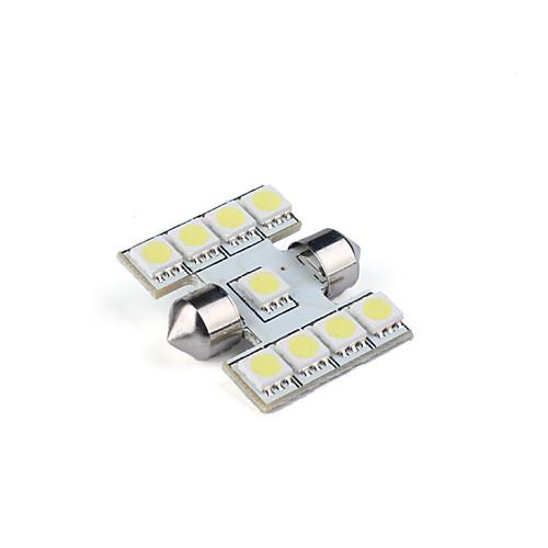 9 привел машину гирлянда лампочек интерьера 31 мм (белый) Lightinthebox 300.000