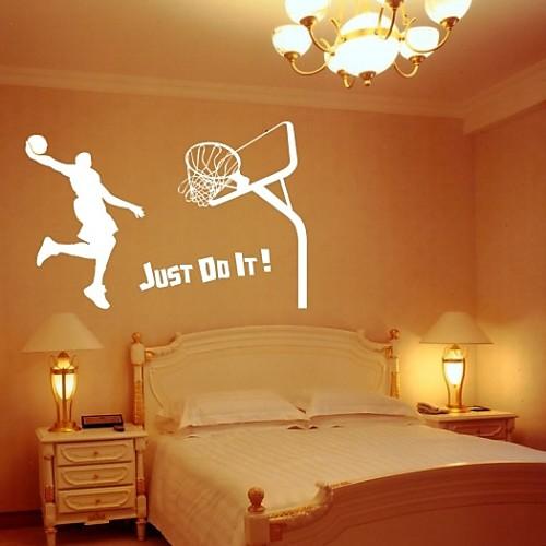 Баскетбольная декоративная наклейка на стену (0565-1105079) Lightinthebox 858.000