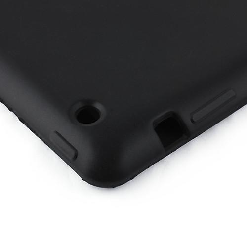 мягкий силиконовый чехол для ipad2 с помощью одной кнопки (черный) Lightinthebox 300.000