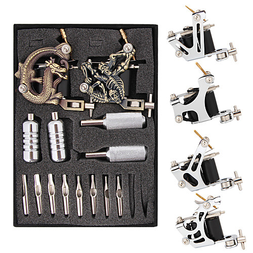 Набор из 6 тату-машинок с ЖК дисплеем зарядки и 7 шт. чернил по 30 мл Lightinthebox 6445.000