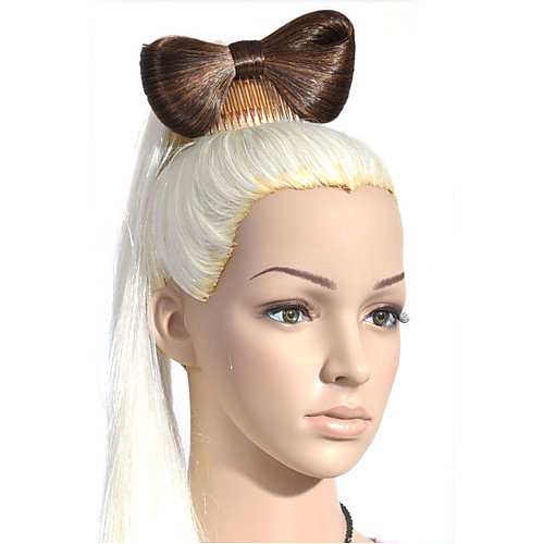 мода бабочки шиньон волосы парик аксессуар Lightinthebox 257.000
