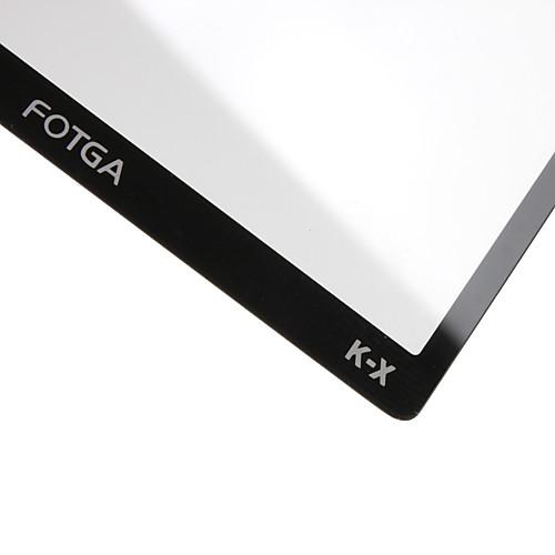 fotga премии ЖК-экран панели защитник стекла для PENTAX Kx Lightinthebox 171.000