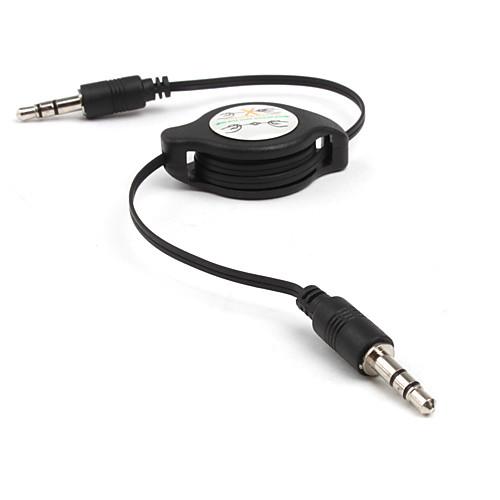 3,5 выдвижной кабель AUX - black/78cm длину Lightinthebox 42.000