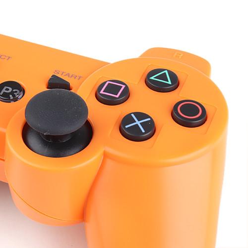 Беспроводной геймпад DualShock 3 для PS3 (оранжевый)