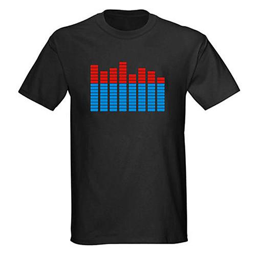 Светодиодная музыкальная футболка Spectrum VU (4AAA) Lightinthebox 730.000