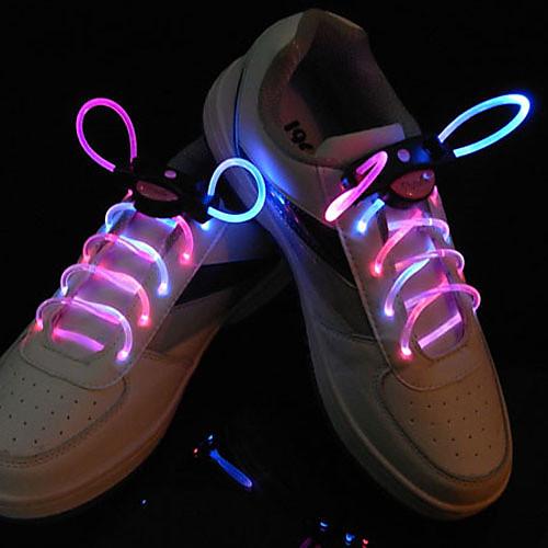 вспышки расти палкой розовый свет водонепроницаемые светодиодные шнурки (1-пара) Lightinthebox 386.000