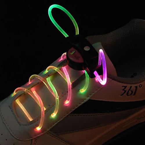 вспышки расти палкой красочный свет водонепроницаемый привело шнурки (1-пара) Lightinthebox 386.000