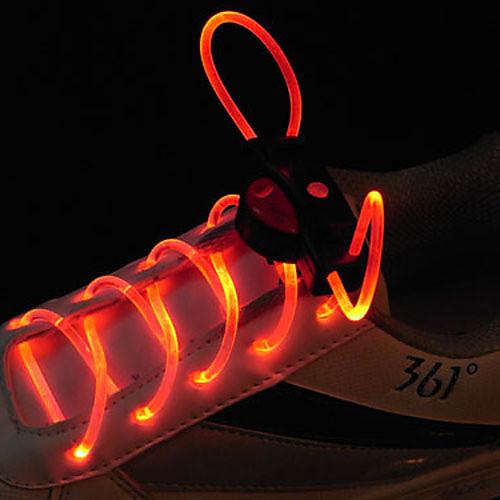 вспышки расти палкой красный свет водонепроницаемый привело шнурки (1-пара) Lightinthebox 300.000