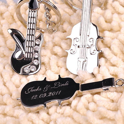 персонализированных ключей - скрипка и гитара (набор из 6 пар) Lightinthebox 618.000