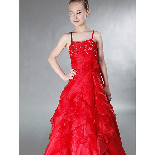 RACHELLE - Платье для подростков из тафты и тюлевой ткани Lightinthebox 4021.000