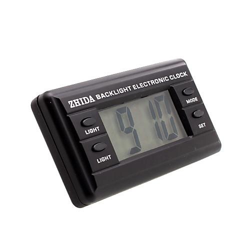 автомобильные электронные часы с голубой подсветкой - черный - з-д-06B Lightinthebox 300.000