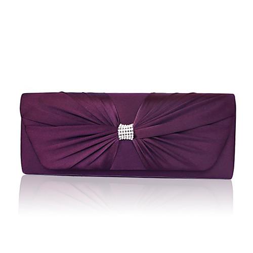 великолепные шелковые вечерние сумочки / муфты больше цветов