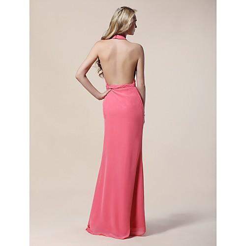 Платье вечернее из шифона длиной до пола, вдохновлено Клэр Дэйнс на церемонии вручения премии Золотой Глобус Lightinthebox 3798.000