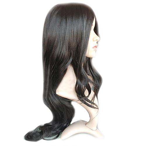 шапки длинные черные кудрявые волосы природного парика несколько цветов Lightinthebox 1288.000