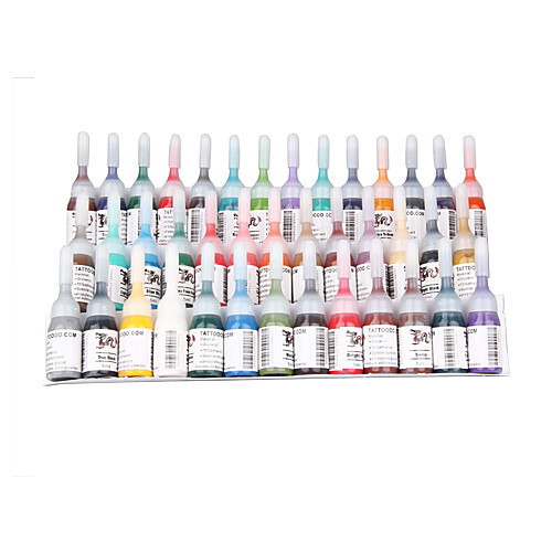 Комплект из 9 тату-машинок, ЖК блока питания и 40 цветных чернил Lightinthebox 5027.000