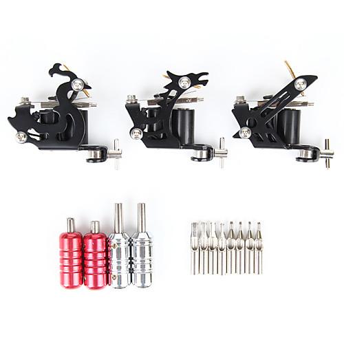 Набор тату-машинок для линий и заливки в алюминиевом футляре (специальное ограниченное предложение) Lightinthebox 4081.000