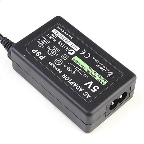 Евро адаптер переменного тока зарядное устройство источник питания для PSP 1000 2000 3000 Lightinthebox 169.000