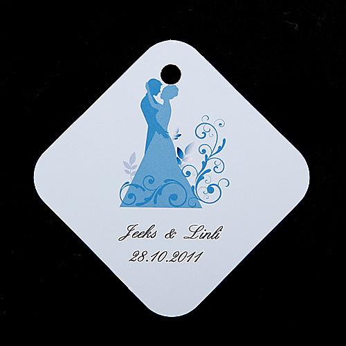 персонализированные теги пользу - жених и невеста (набор из 36) Lightinthebox 143.000
