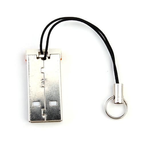 мини брелок USB читатель 2.0 тс MicroSD карты (оранжевый) Lightinthebox 83.000