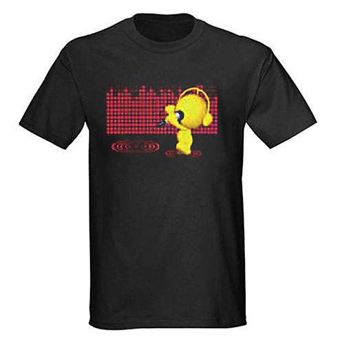Звук и музыка активированный спектр вю метр-эль-визуализатор футболку (2  AAA) Lightinthebox 944.000