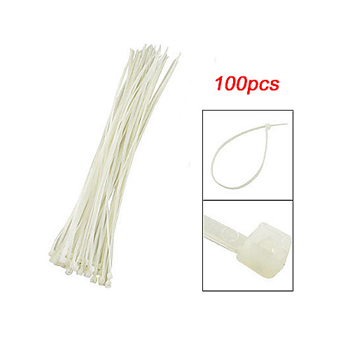 удобные нейлоновые кабельные стяжки 15 см (100) Lightinthebox 85.000