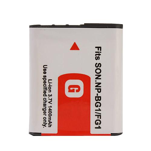 1400mAh батарея для камеры  NP-BG1/FG1 для SONY DSC-W30 DSC-W35, DSC-W40 и др. Lightinthebox 171.000
