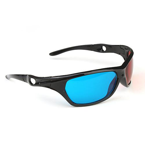 Спортивные 3D очки с пластиковой оправой (красныйсиний) Lightinthebox 42.000