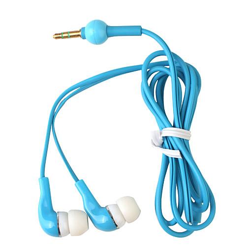 элегантные высококачественные наушники, шнур 1,2 м, 3,5 мм (синий) Lightinthebox 85.000