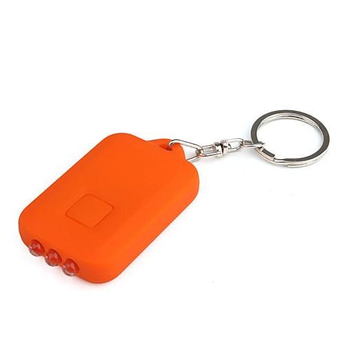 солнечной энергии белого света 3-главе брелок фонарик (оранжевый) Lightinthebox 128.000