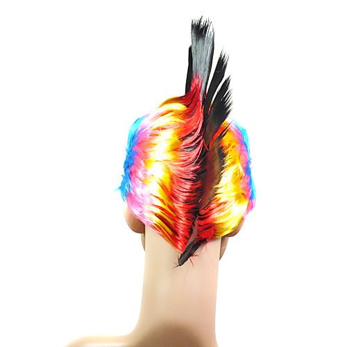 монолитным высококачественных синтетических красочные кристатным костюм парик партия Lightinthebox 429.000