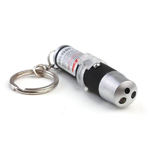 3-в-1 ультрафиолетовый фонарик  лазерная указка  LED брелок (черный) Lightinthebox 128.000