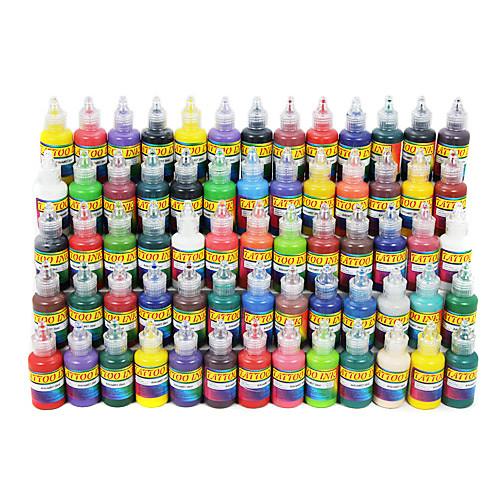 65 цвета татуировки набор чернил 65  20 мл Lightinthebox 5370.000