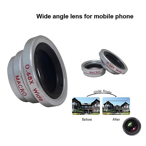 Съемная макро линза с 0,68 увеличением для сотовых телефонов и цифровых камер Lightinthebox 236.000