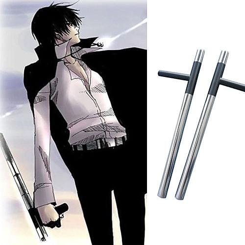 косплей оружие вдохновлен Reborn! Kyoya Hibari облако tonfas нержавеющей стали Lightinthebox 1288.000