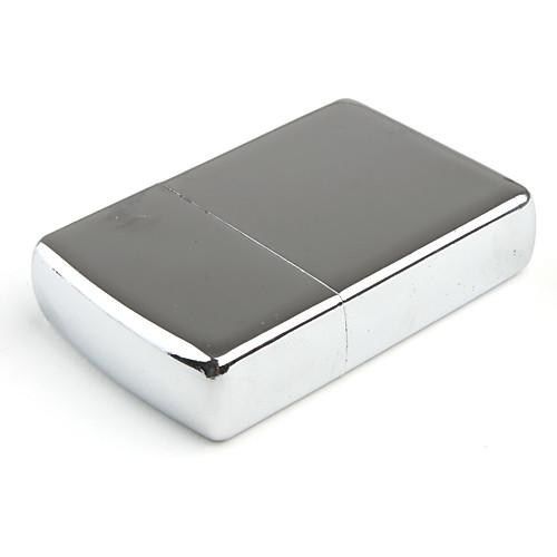 Металлическая маслянная зажигалка (серебристая) Lightinthebox 128.000