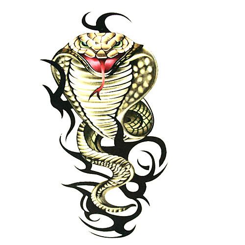 5 шт змею водонепроницаемую временную татуировку (6м  6 см) Lightinthebox 214.000