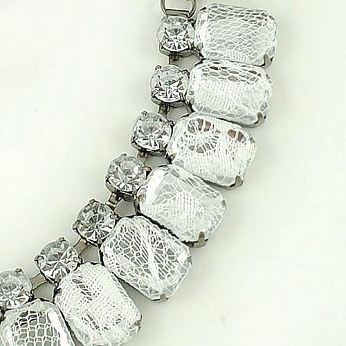 кристалл кружево свитер цепи Lightinthebox 343.000