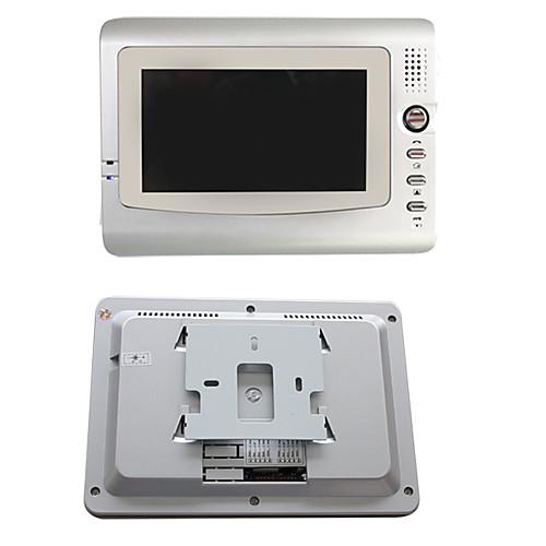 7-дюймовый снимке, сделанном видео домофон системы (2 ЖК-экранов, от дождя) Lightinthebox 7734.000