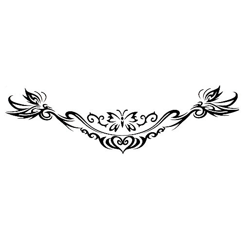 5 шт цветок водонепроницаемый временную татуировку (14м  4 см) Lightinthebox 214.000