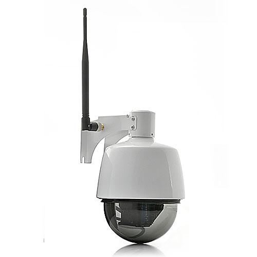 Мини купольная IP-камера (от непогоды, PTZ-контроль, 3-кратный оптический зум, WiFi) Lightinthebox 5413.000