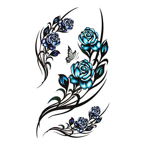 5 шт выросли водонепроницаемый временную татуировку (17,5 см  10 см) Lightinthebox 429.000