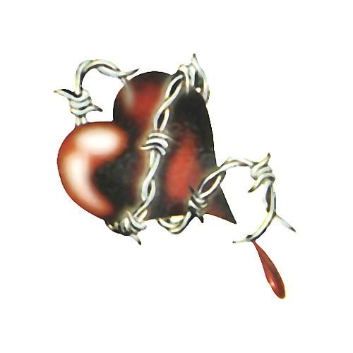 5 шт разбитое сердце водонепроницаемый временную татуировку (6м  6 см) Lightinthebox 214.000