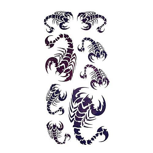 5 шт скорпиона водонепроницаемый временную татуировку (18.5cm  9см) Lightinthebox 214.000