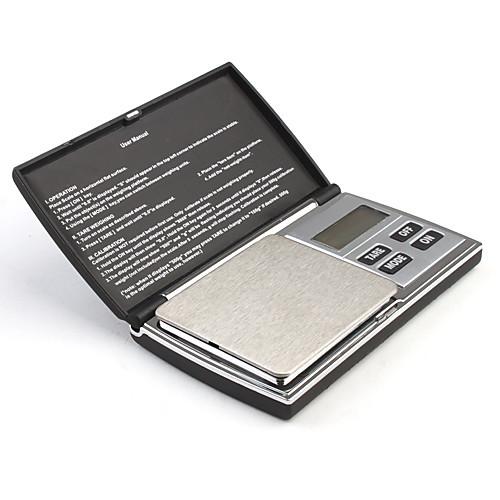 Высокоточные карманные цифровые весы (макс. 500 гр. / погрешность 0,1 гр.) Lightinthebox 644.000