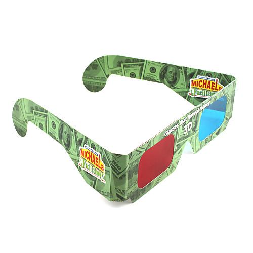 Одноразовые 3D очки красныйсиний Lightinthebox 85.000