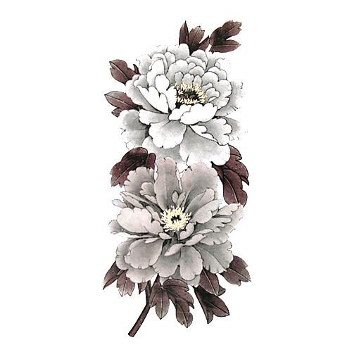 5 шт цветок водонепроницаемый временную татуировку (19м  9см) Lightinthebox 214.000