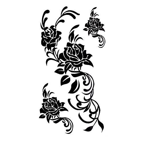 5 шт выросли водонепроницаемый временную татуировку (17,5 см  10 см) Lightinthebox 214.000