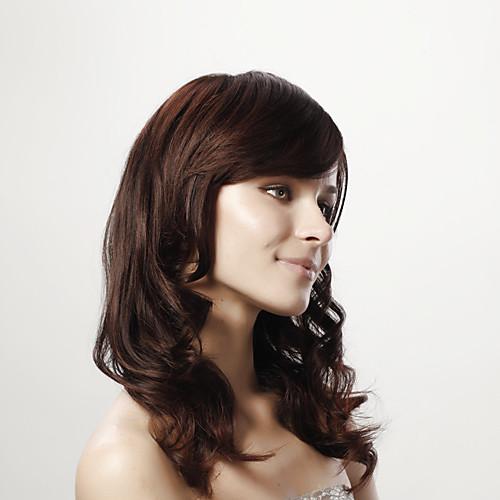 монолитным длинное тело фигурная коричневый 100% человеческих волос 5 цветов на выбор Lightinthebox 5027.000
